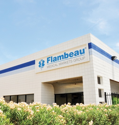 Flambeau Medical Markets Group new Facility