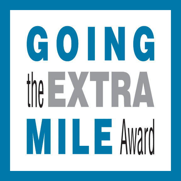 Going the Extra Mile Award